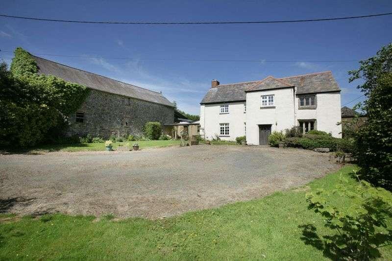 5 Bedrooms Detached House for sale in Broadwoodwidger, Lifton