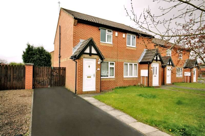 2 Bedrooms Semi Detached House for sale in mortimer avenue, newcastle upon tyne, Tyne and Wear, NE5