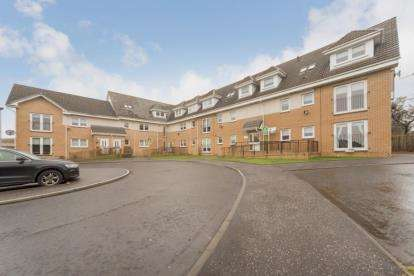 2 Bedrooms Flat for sale in Eden Court, Glenmavis, Airdrie, North Lanarkshire