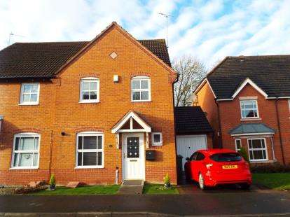 4 Bedrooms Semi Detached House for sale in Rosedale Close, Brock Hill, Redditch, Worcestershire