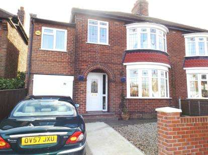4 Bedrooms Semi Detached House for sale in Darlington Road, Stockton-On-Tees, Durham