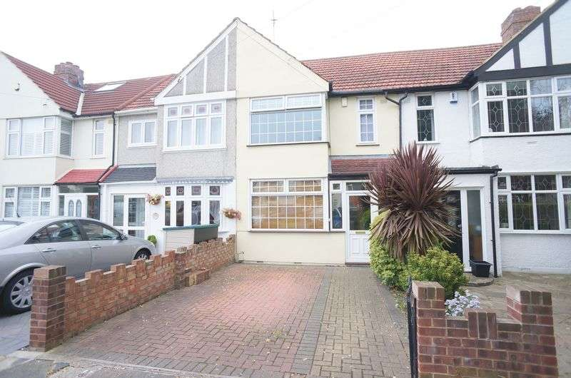 3 Bedrooms Terraced House for sale in Wellington Avenue, Sidcup, DA15 9HF