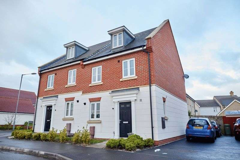 4 Bedrooms Semi Detached House for sale in Lord Nelson Drive, Norwich
