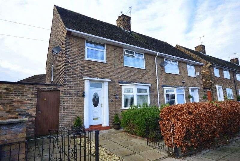 3 Bedrooms Semi Detached House for sale in Horrocks Avenue, Liverpool