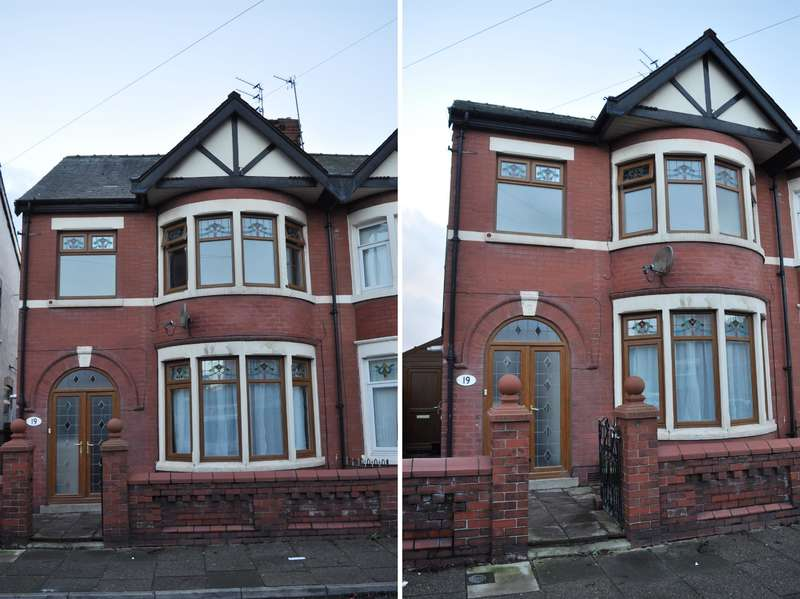 4 Bedrooms Semi Detached House for sale in Ripon Road, Blackpool, FY1 4DY
