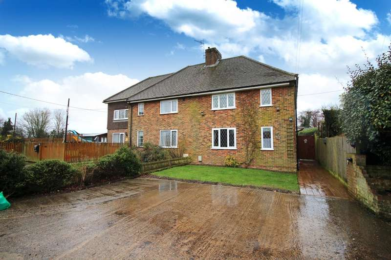 3 Bedrooms Semi Detached House for sale in The Mount, Ifield