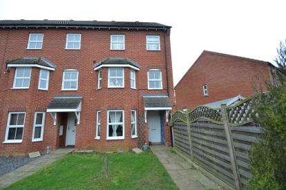3 Bedrooms End Of Terrace House for sale in Johnson Avenue, Wellingborough, Northamptonshire