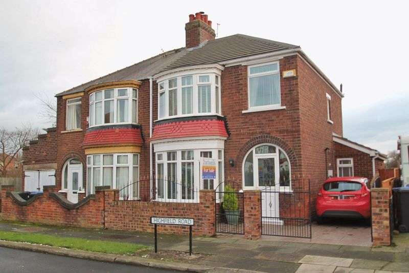3 Bedrooms Semi Detached House for sale in Highfield Road, Longlands
