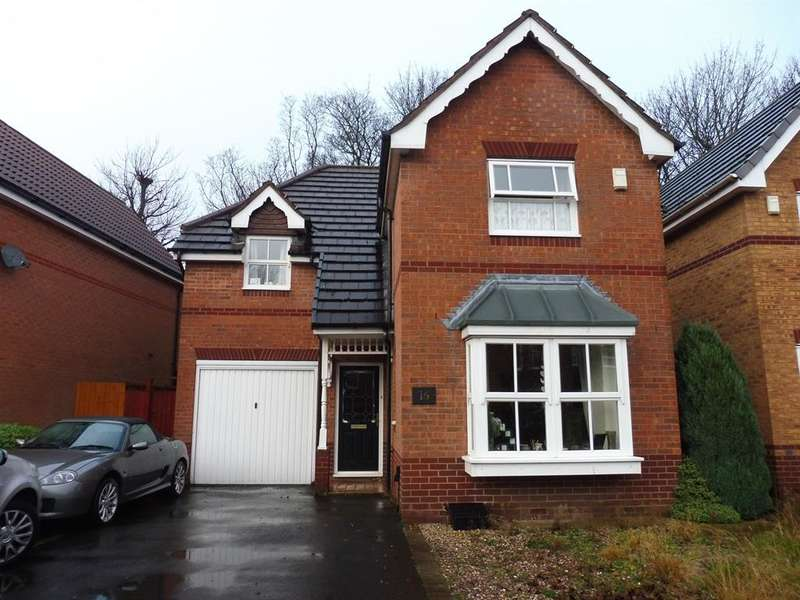 3 Bedrooms Detached House for sale in Kinloch Drive, Dudley, DY1