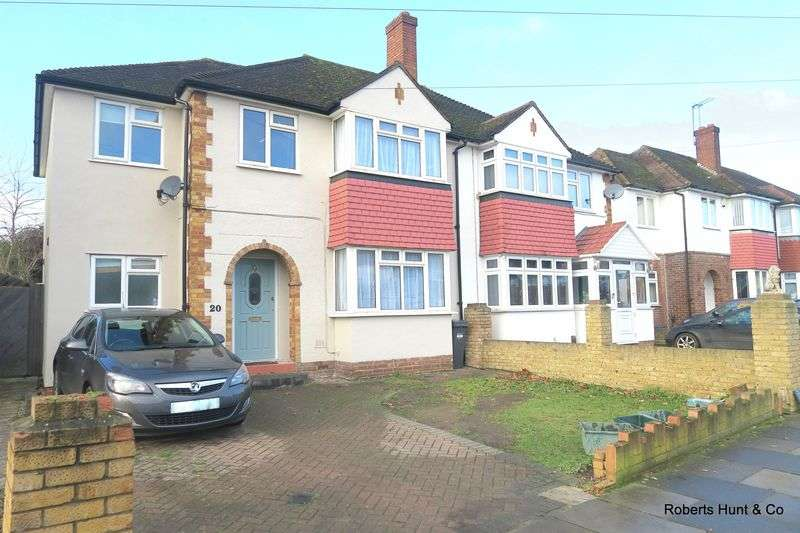 4 Bedrooms Semi Detached House for sale in Benedict Drive, Bedfont