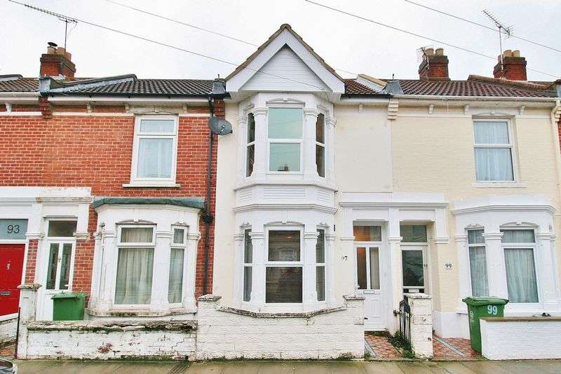 2 Bedrooms Terraced House for sale in Kingsley Road, Southsea