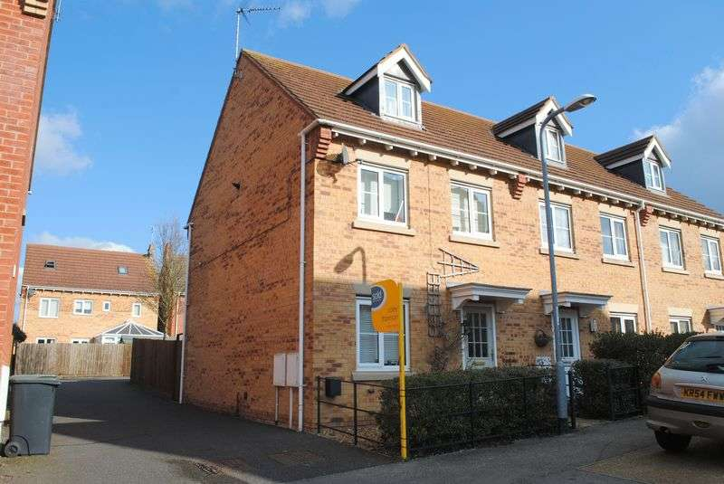 3 Bedrooms Terraced House for sale in Bankside, Higham Ferrers