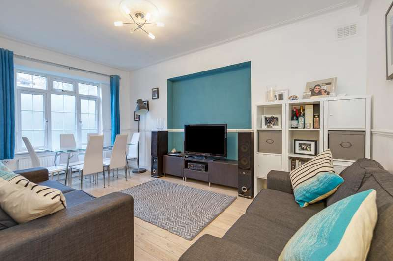 2 Bedrooms Flat for sale in Shoot Up Hill, Kilburn