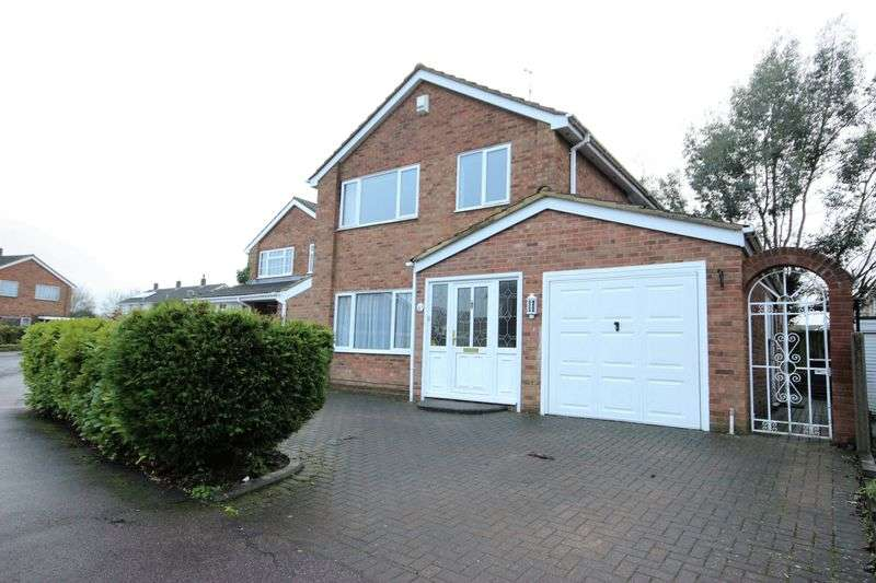 3 Bedrooms Detached House for sale in Orwell Close, Brickhill, Bedford, Bedfordshire