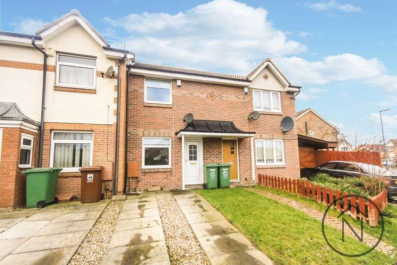 2 Bedrooms Terraced House for sale in Brecongill Close, Hartlepool