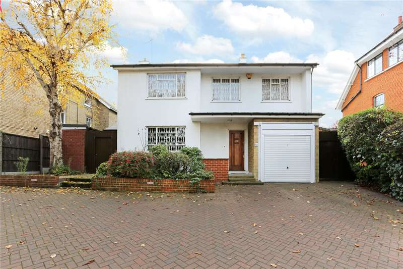 4 Bedrooms Detached House for sale in Castlebar Hill, Ealing, W5