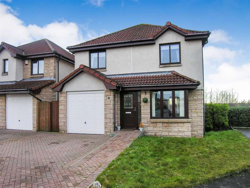 3 Bedrooms Detached House for sale in Crofthead Street, New Carron Village, Falkirk