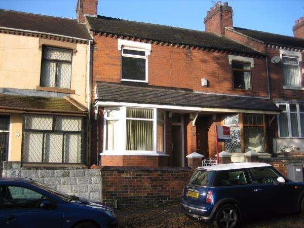 2 Bedrooms Terraced House for sale in 92 BASKERVILLE ROAD, STOKE-ON-TRENT
