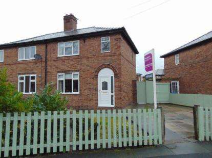 3 Bedrooms Semi Detached House for sale in Barrymore Avenue, Warrington, Cheshire, WA4