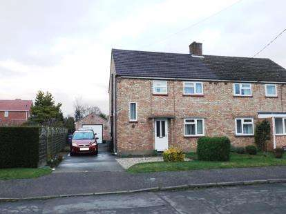 3 Bedrooms Semi Detached House for sale in Edwardstone, Sudbury, Suffolk