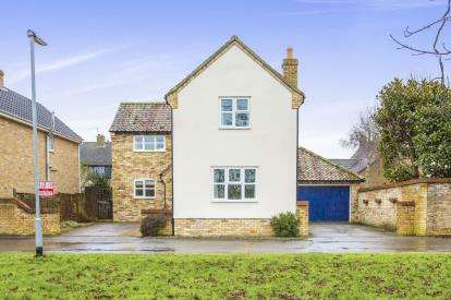 3 Bedrooms Detached House for sale in Brookside, Alconbury, Huntingdon, Cambridgeshire