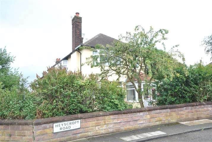 3 Bedrooms Semi Detached House for sale in Heyscroft Road, Woolton, Liverpool, L25