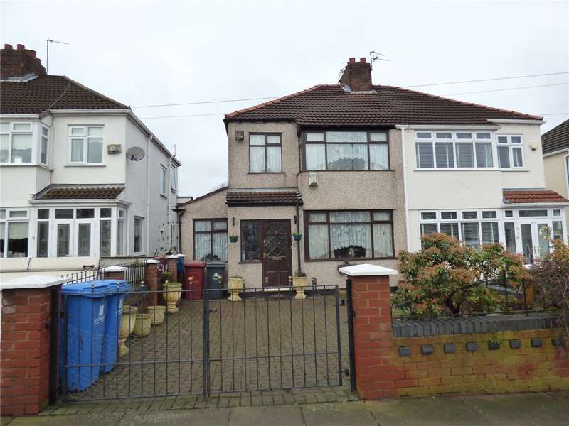 3 Bedrooms Semi Detached House for sale in Campbell Drive, Liverpool, Merseyside, L14