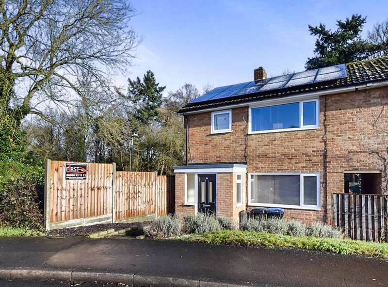 3 Bedrooms End Of Terrace House for sale in Rectory Wood, Harlow, CM20