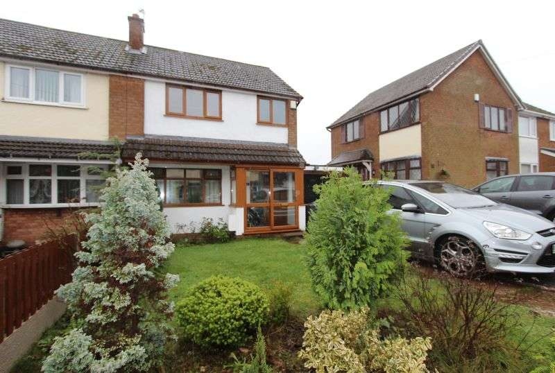 3 Bedrooms Semi Detached House for sale in Dovedale Avenue, Walsall