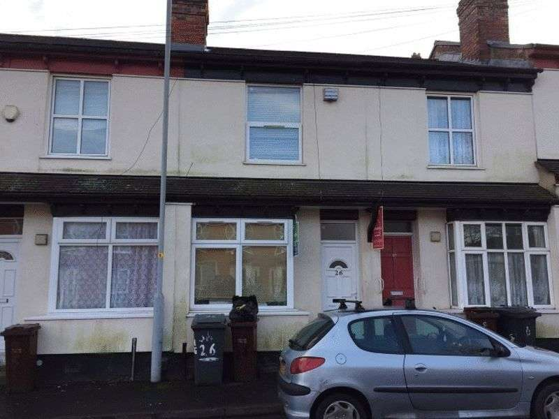 3 Bedrooms Terraced House for sale in Granville Street, Wolverhampton