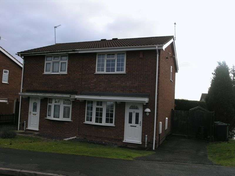 2 Bedrooms Semi Detached House for sale in Belvoir Close, Dudley