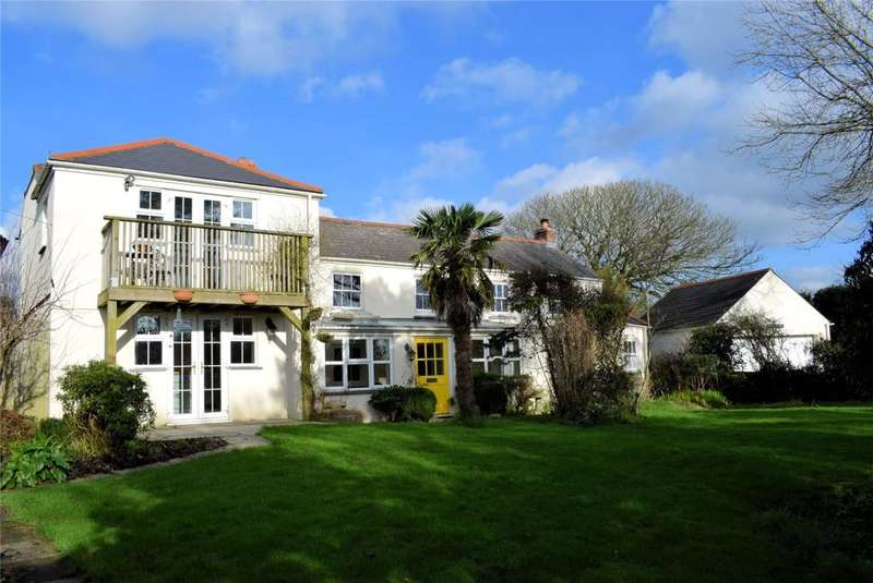 4 Bedrooms Detached House for sale in Seworgan, Near Constantine, Cornwall