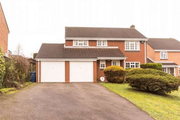 4 Bedrooms Detached House for sale in Wightman Close, Lichfield, Staffordshire