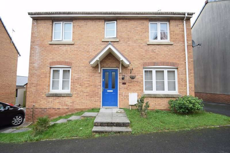 3 Bedrooms Detached House for sale in 26 Kingfisher Road, North Cornelly, Bridgend, Bridgend County Borough, CF33 4NZ.