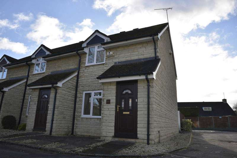 3 Bedrooms Semi Detached House for sale in Jacobs Close, Witney