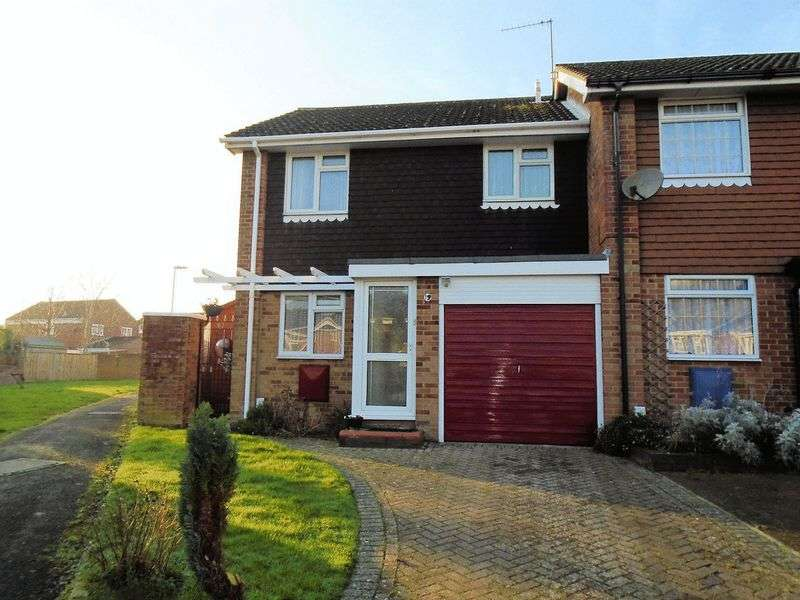 3 Bedrooms Terraced House for sale in Marlow Close, Fareham