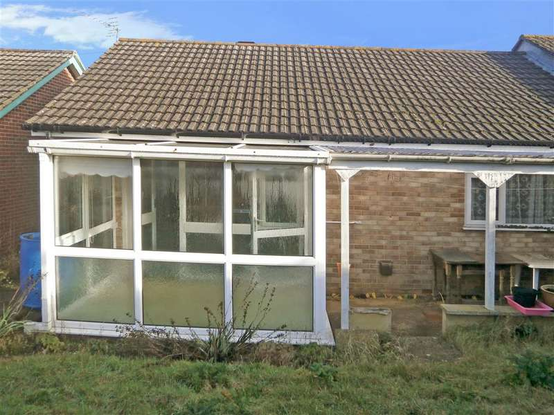 2 Bedrooms Semi Detached Bungalow for sale in Whites Mead, Sandown, Isle of Wight