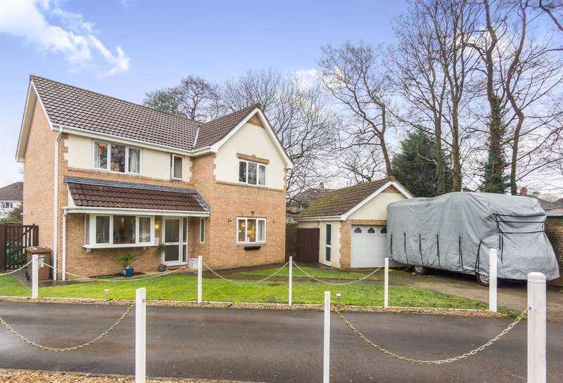 4 Bedrooms Detached House for sale in Morgan Street, Caerphilly
