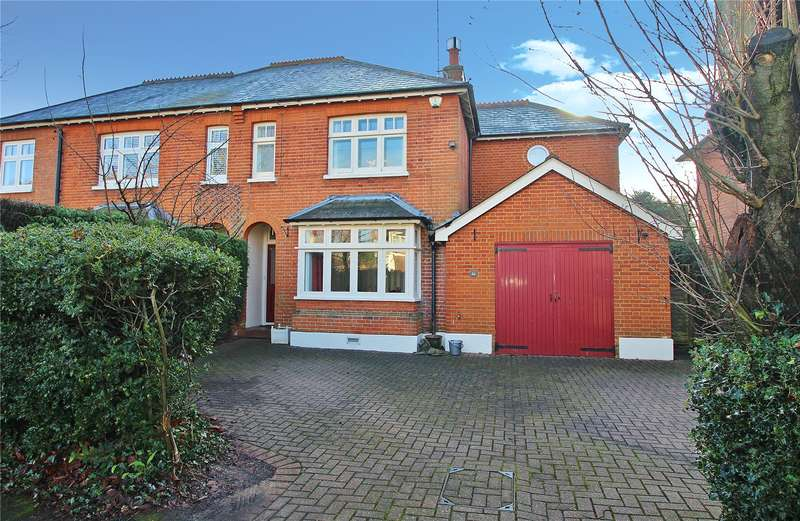 4 Bedrooms Semi Detached House for sale in Waldens Park Road, Horsell, Woking, Surrey, GU21