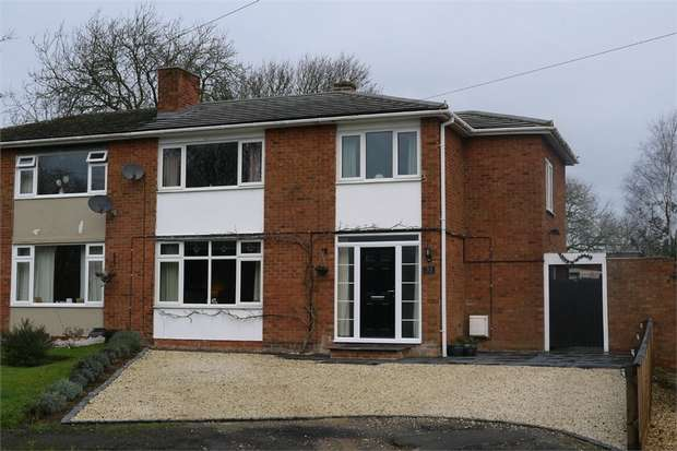 4 Bedrooms Semi Detached House for sale in Welland Avenue, Gartree, Market Harborough, Leicestershire