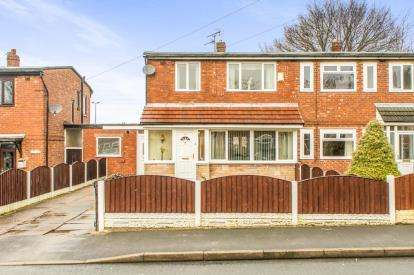 3 Bedrooms Semi Detached House for sale in Hartshead Avenue, Ashton-Under-Lyne, Greater Manchester, Ashton