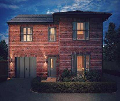 4 Bedrooms Detached House for sale in Ambience, Linton, Swadlincote, Derbyshire
