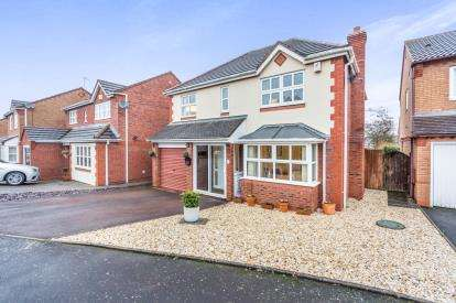 4 Bedrooms Detached House for sale in Pitt Avenue, Warndon Villages, Worcester, Worcestershire
