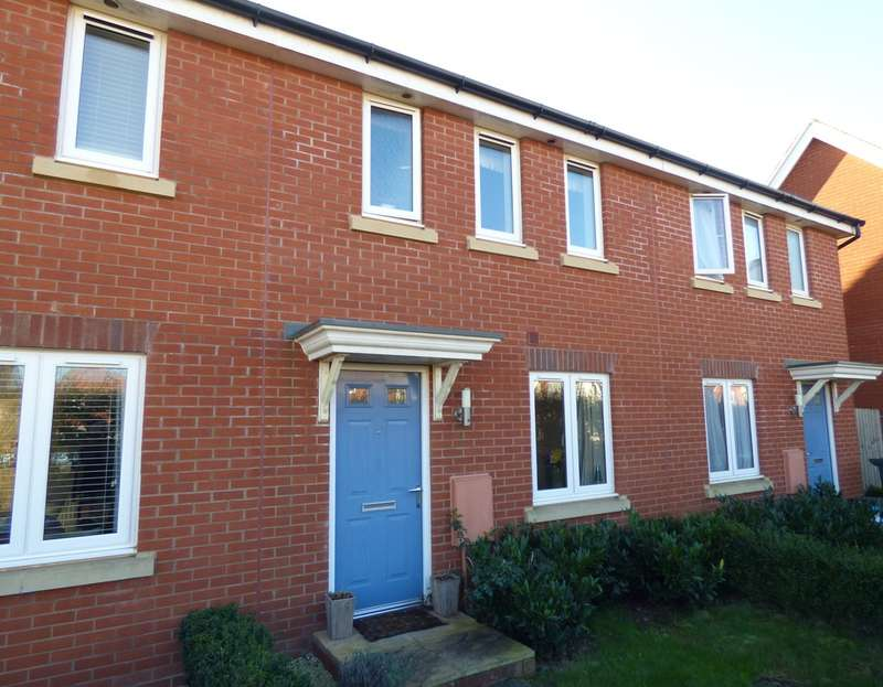 3 Bedrooms Terraced House for sale in Mayfield Way, Cranbrook