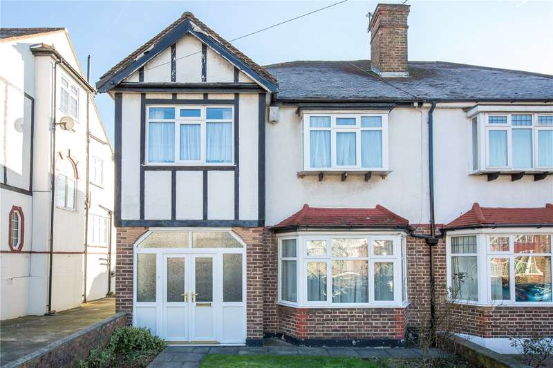 3 Bedrooms Semi Detached House for sale in Exeter Road, Southgate, London, N14