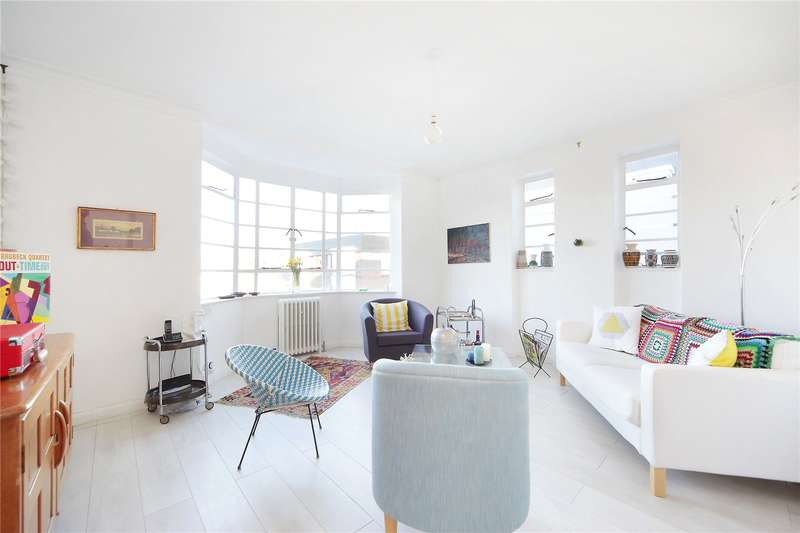 2 Bedrooms Apartment Flat for sale in Hightrees House, Nightingale Lane, Clapham South, London, SW12