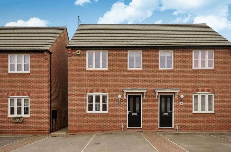 3 Bedrooms Semi Detached House for sale in Barrett Court, Sawtry