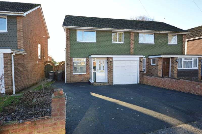 3 Bedrooms Semi Detached House for sale in Bridefield Crescent, Waterlooville
