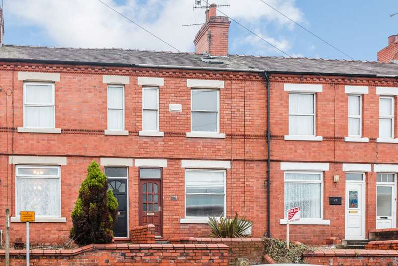 3 Bedrooms Terraced House for sale in Watery Road, Wrexham LL13 7NW