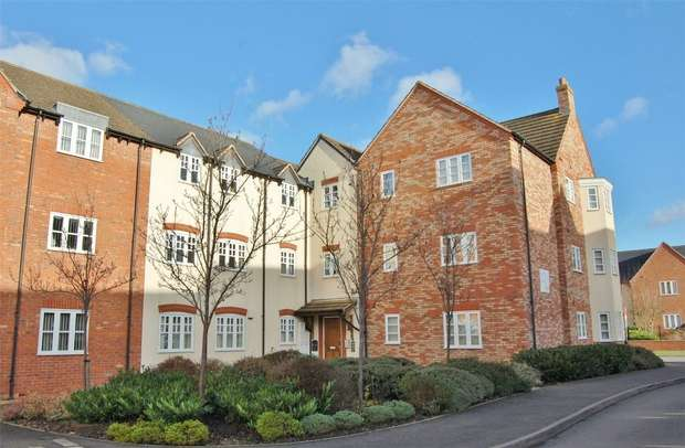 2 Bedrooms Flat for sale in Ivy Grange, Bilton, RUGBY, Warwickshire